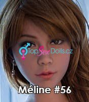 Extra heads for WM Dolls - Head (WM 135+): #159 Cassidy