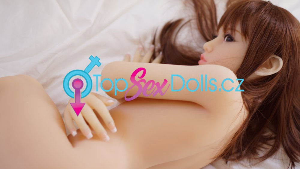 Realistická panna Phoebe White / 130 cm / A-Cup - Piper Doll