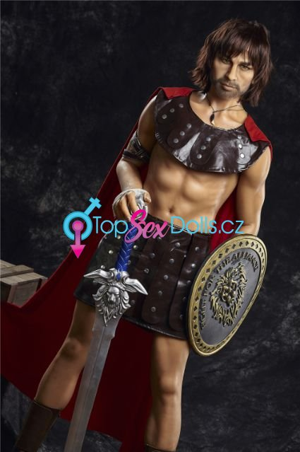 Real Male Sex Doll Charles Warrior 162 cm Male Sex Doll - Irontech Doll