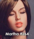 #264 Martha - Closed eyes