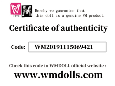 WM Dolls Anti fake system