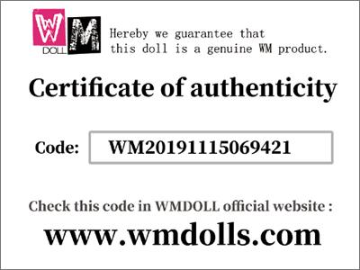 WM Dolls Anti fake system